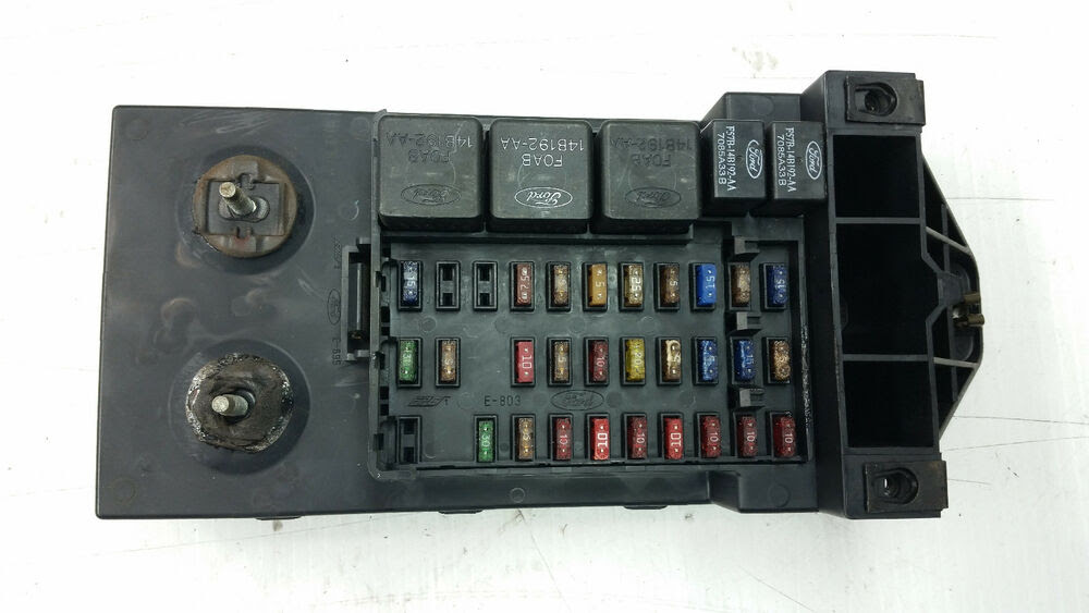 30 97 Ford Expedition Fuse Diagram - Wire Diagram Source ...