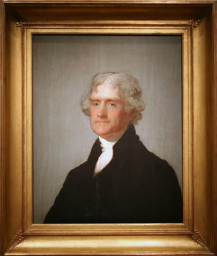 Thomas Jefferson (The Edgehill Portrait), Third President (1801-1809)