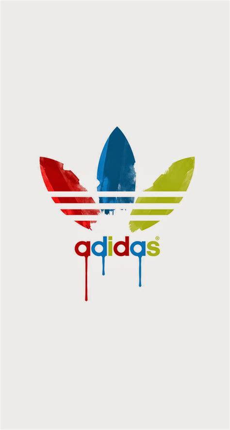 adidas dripping paint logo iphone   hd wallpaper hd
