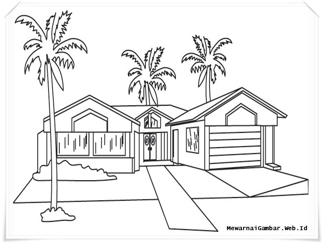 10 Gambar Mewarnai Rumah Auto Electrical Wiring Diagram