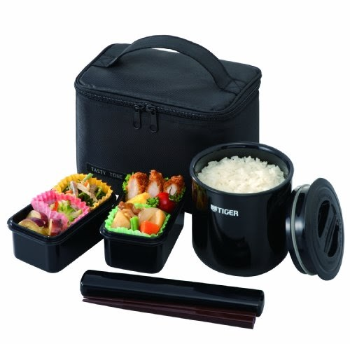 Lunch Boxes For Kids Tiger Lwy E046 Thermal Lunch Box Black