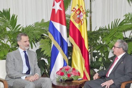 Felipe VI defendió en Cuba los DD.HH, lo que no hizo en Marruecos, ocupante del Sáhara Occidental