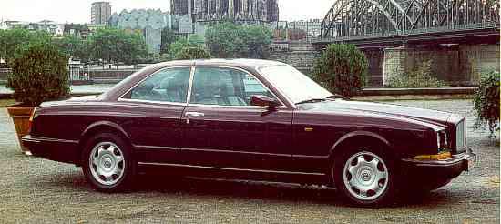 2003 Bentley Continental R. Bentley Continental R, 1994.