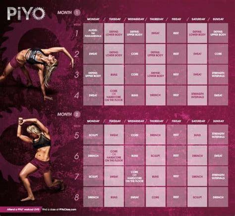 honest piyo workout review yoga pilates  weight loss