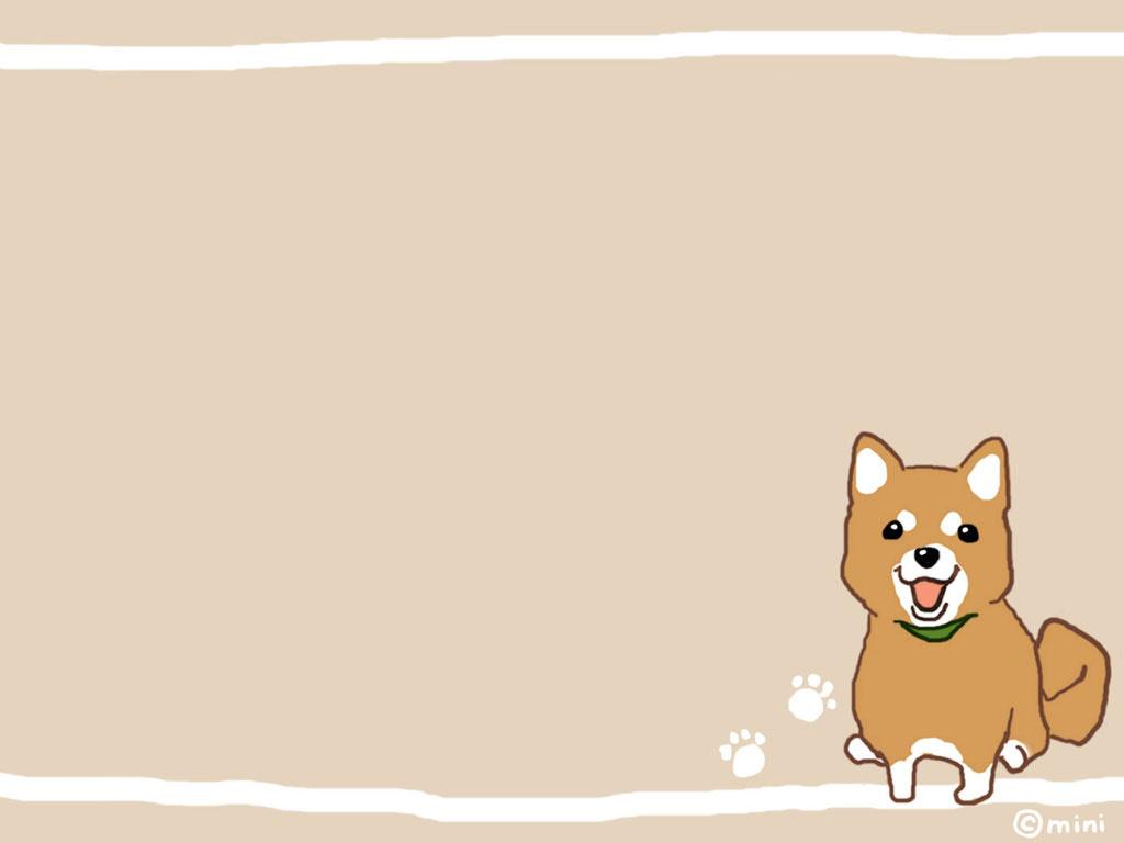 虹引の丘 イラスト 柴犬の壁紙 写真 画像 イラスト 黒柴 赤柴 白柴