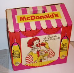 McDonald's Theatre Takeout box