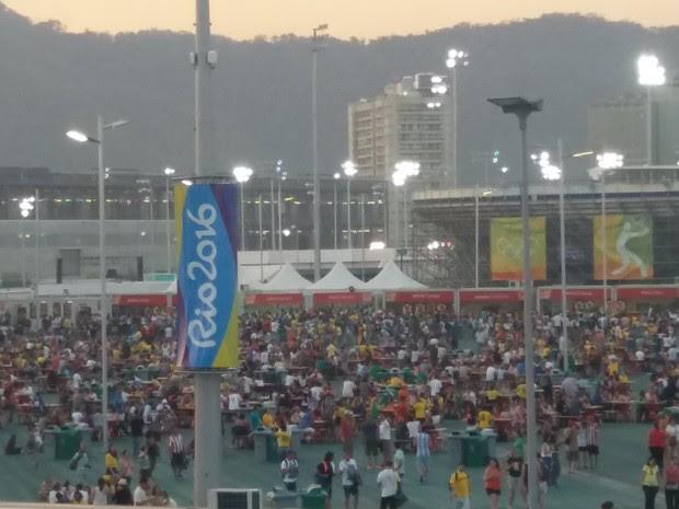 Parque Olímpico (Foto: G1)