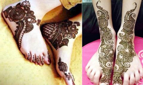 Mehndi Legs Images : Information welfare beautiful arabic mehndi designs for legs and feet
