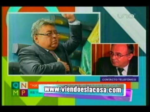 REYMI FERREIRA LLORA POR LA MUERTE DEL MINISTRO ILLANES EN MANOS DE LOS COOPERATIVISTAS MINEROS