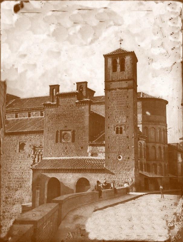 Iglesia de Santiago del Arrabal en el siglo XIX. Fotografía de Casiano Alguacil