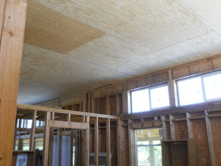 House Library Ceiling Panels Complete