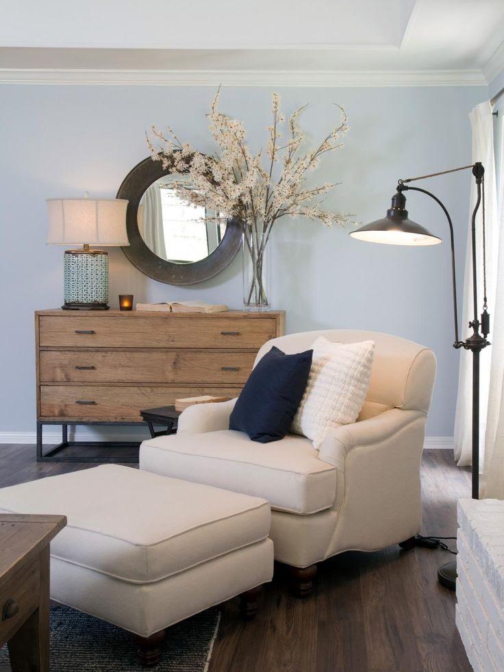 Vorhänge Für Schlafzimmer Mit Blauen Wänden Design Blau ...