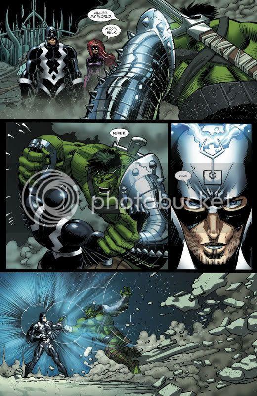 Hulk vs Raio Negro