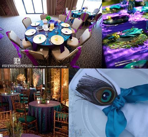 Wedding Wednesdays: MORE Peacock Madness