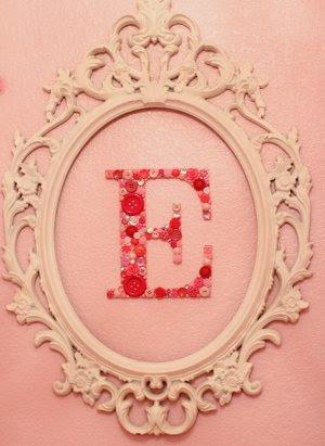 Sweet Button Monogram
