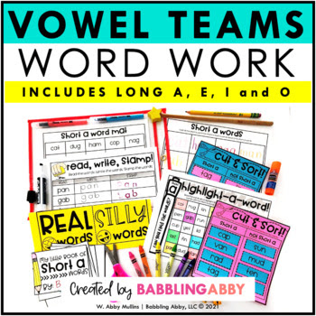Word Work Mega Pack Part 1