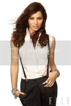 Jessica Biel Elle December 2011 Issue: Fashion Styles