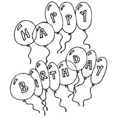 happy birthday coloring pages for adults at getdrawings