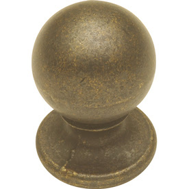 antiqued brass cabinet knobs