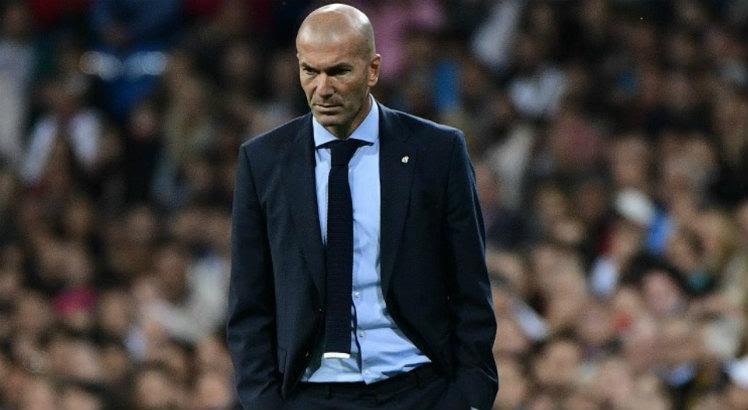 Zidane mira título da Champions no próximo sábado / AFP