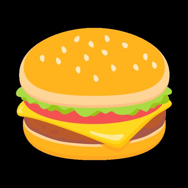 ハンバーガーの無料ベクターイラスト素材 Picaboo ピカブー