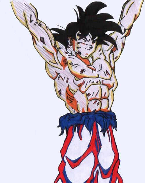 Dessin De Dragon Ball Z Facile En Couleur Dessin Facile