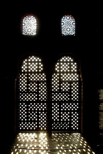 Contraluz en la Alhambra