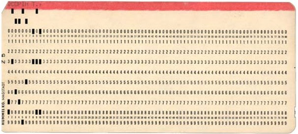 punch card pic