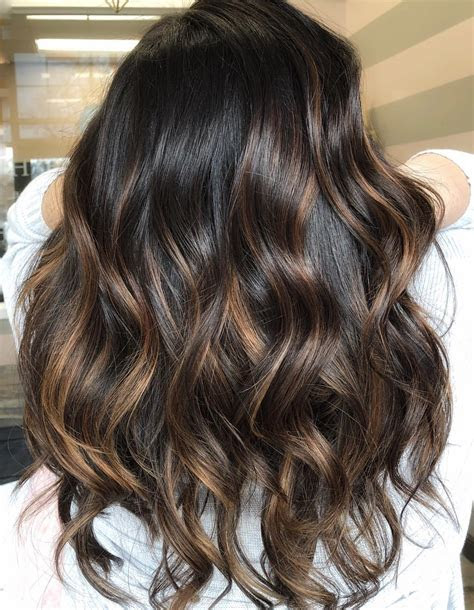hottest trends  brown hair  highlights  nail