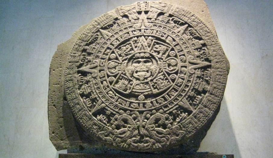 Piedra del Sol, Calendario Azteca