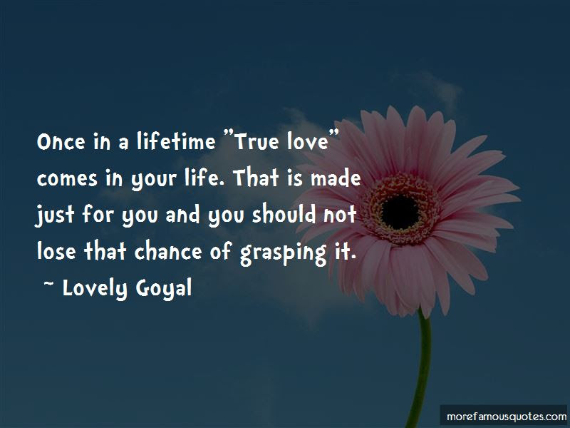 Once Lifetime Love Quotes Top 35 Quotes About Once Lifetime Love