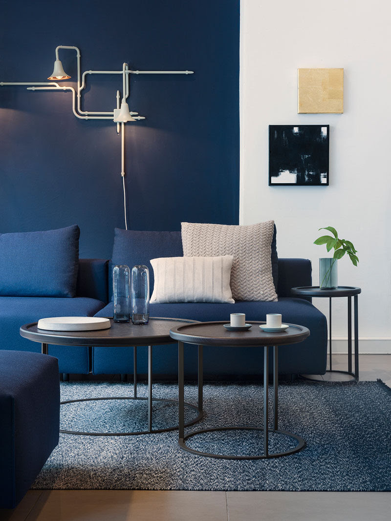 4 Ways To Use Navy Home Decor To Create A Modern Blue ...