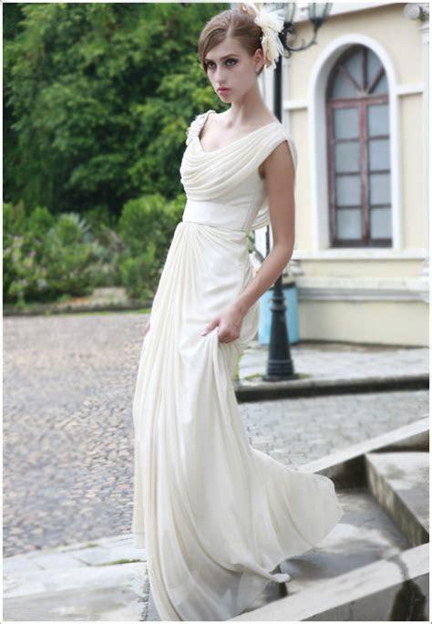 Ivory Cowl Neck Wedding Dress By ElliotClaireDresses On