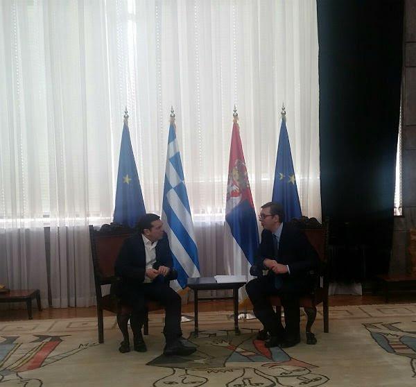 ΕΚΤΑΚΤΟ: Συμμαχία Ελλάδας-Σερβίας-Ρωσίας-Κίνας και μήνυμα σε Αλβανία-Τουρκία – Α.Τσίπρας: «Στις κρίσιμες στιγμές βρεθήκαμε πάντα στην ίδια πλευρά» – Σύνδεση Πειραιά-Θεσ/κη-Βελιγράδι για τον «Δρόμο του Μεταξιού» - Εικόνα4