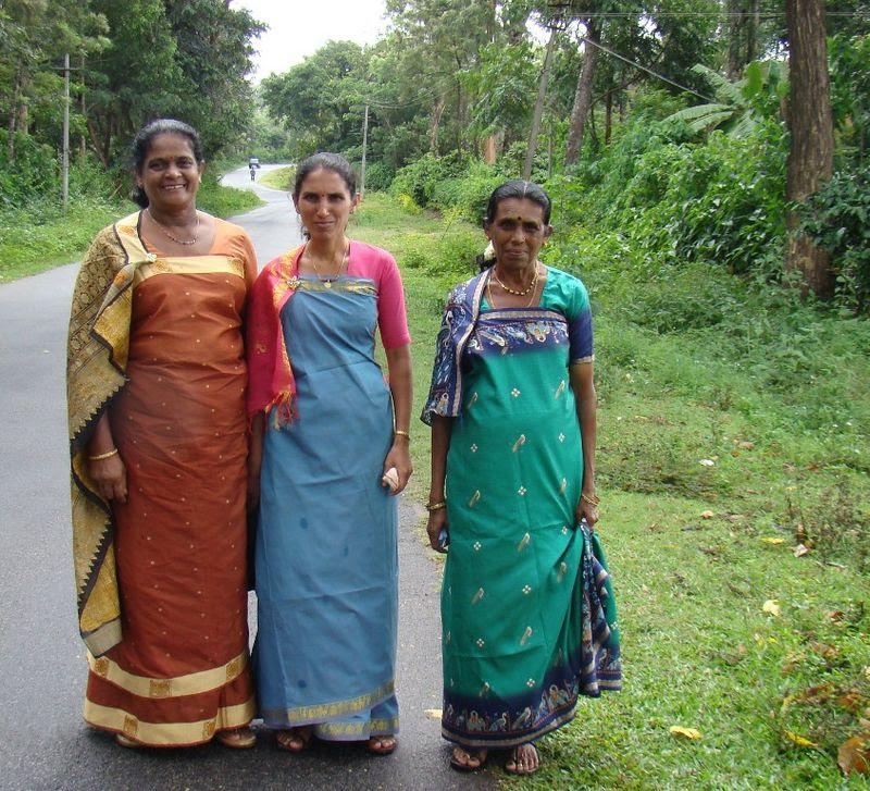 coorgi ladies in traditional dress  india travel forum