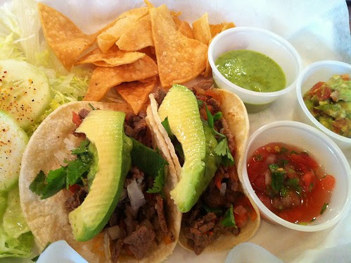 98. Filet Mignon tacos at Las Tortugas