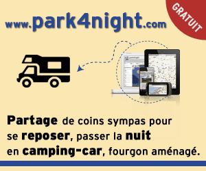 park4night : Compartiendo de rincones simpáticos para descansarse en autocaravanas o van equipadas.