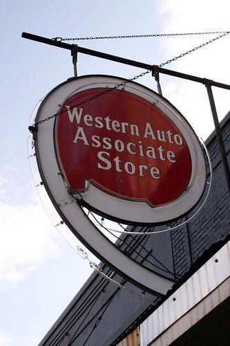 western auto sign in minden