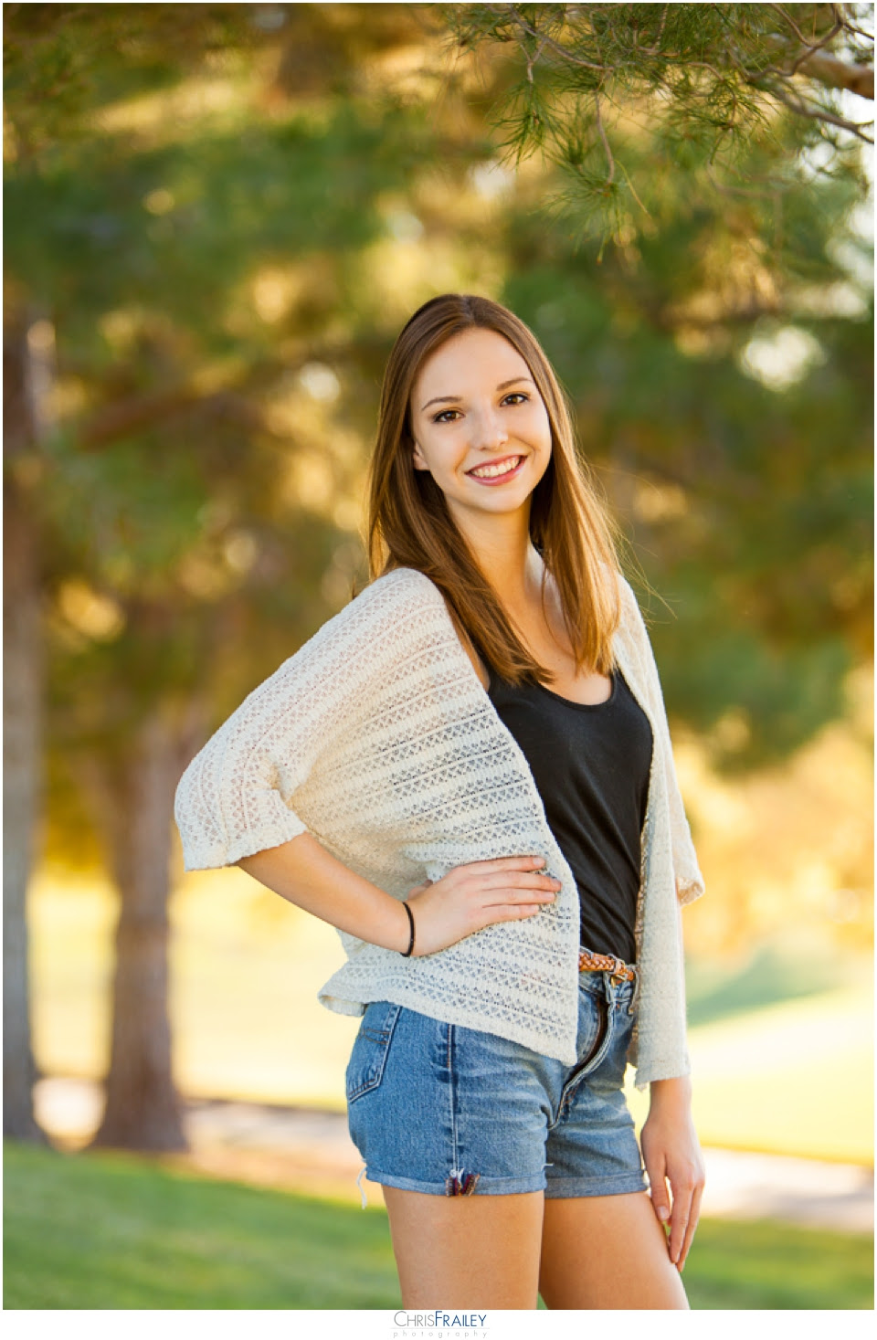 Haley   Outdoor Senior Portraits