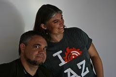 Me and Dani Cutler - Podcamp AZ 2010