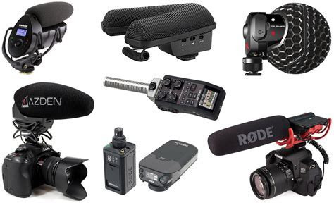 Top 20 Best Microphones for DSLR Camera and Camcorders