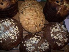 panettone, fisherman's & rye breads