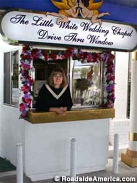 Tunnel Of Love: Drive Thru Weddings, Las Vegas, Nevada