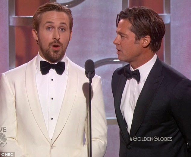 This one's going in my Notebook: He looked insulted when his fellow Sexiest Man Alive winner triedassuage his fears