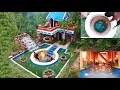 Spent185 Days To Build Awesome Golf Villa, Swimming pool