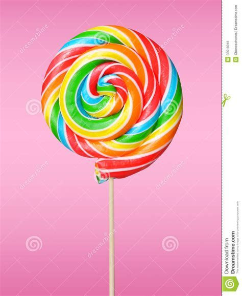 Lollipop stock photo. Image of close, up, striped, green