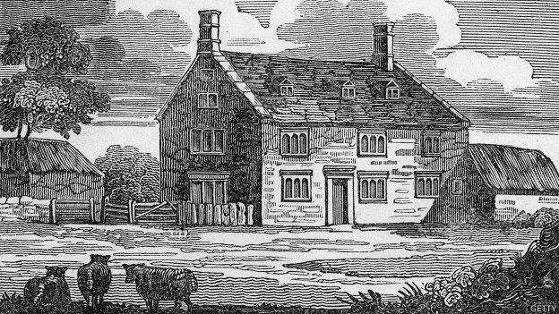 Casa en la que nació Newton