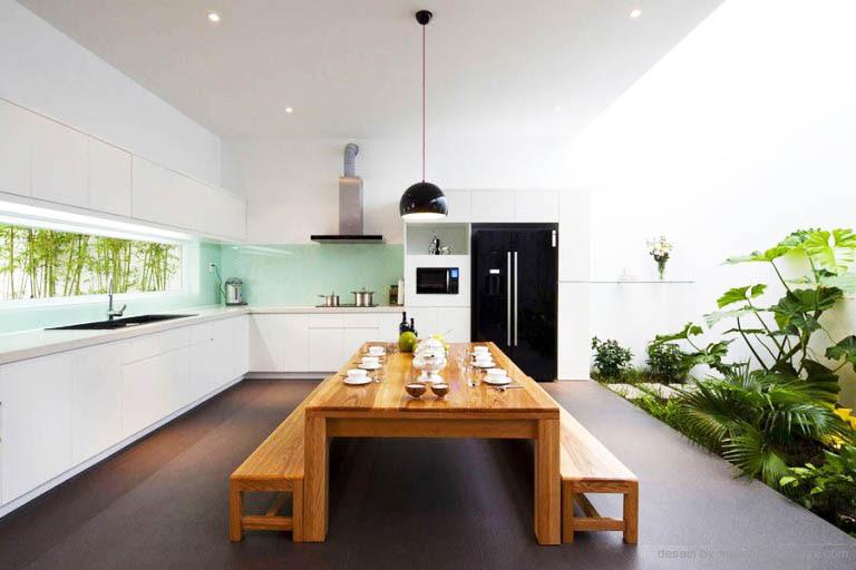 Desain Dapur dan Ruang Makan Terbuka  11 Desain  Rumah