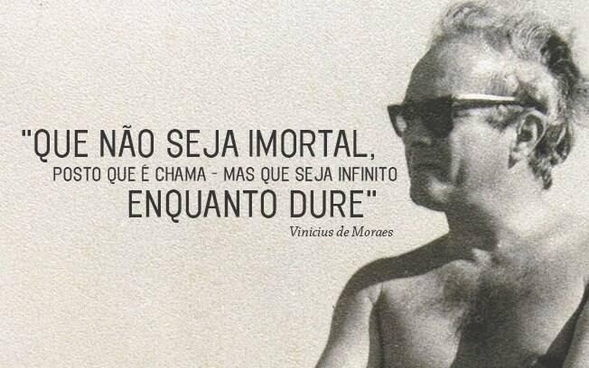 Vinicius De Moraes Em Frases E Versos Música Ig