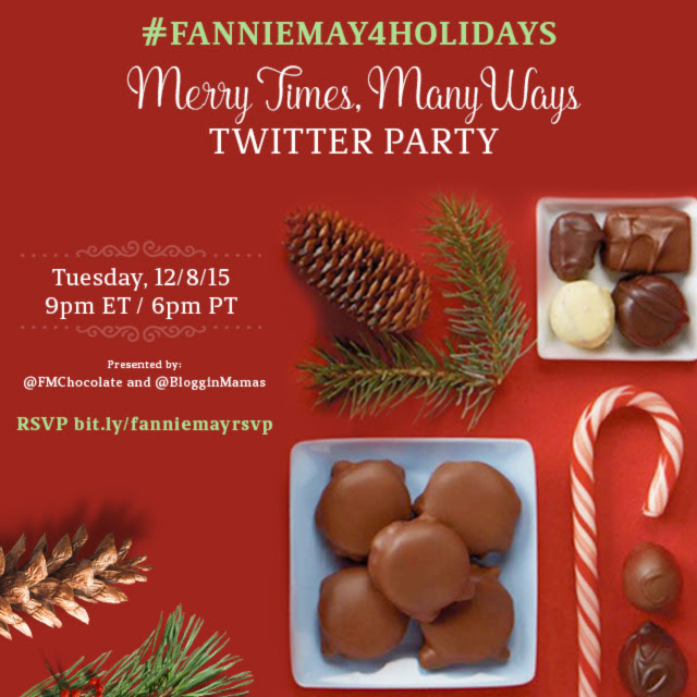 #FannieMay4Holidays Twitter Party 12/8 at 9p EST. RSVP: bit.ly/fanniemayrsvp